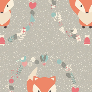 Christmas baby fox 02