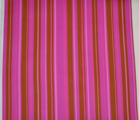 Pink and Brown Candy Stripe