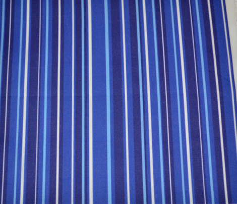 Blue Candy Stripes