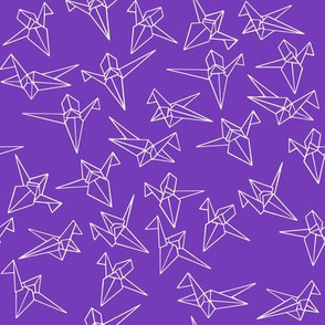 Dream panda_crane flutter purple