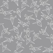Dream panda_crane flutter gray