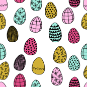 easter egg // bright nursery spring easter bunny