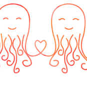 Octopus love orange