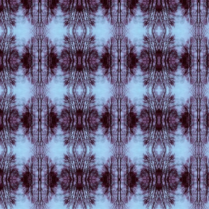 Bare-naked Trees (Purple & Blue)