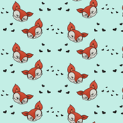 Foxes and hearts