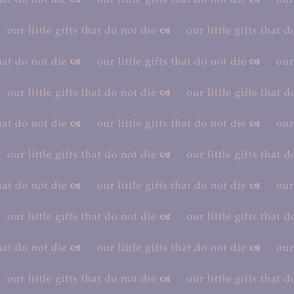 Little Gifts (Purple & Purple)