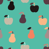 Apples + Pears Teal