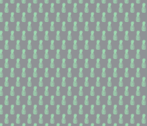 Minty Pineapples