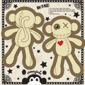 "5"" VooDoo Monkey Cut & Sew Doll"