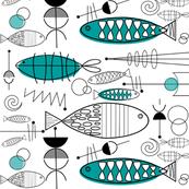Mid-Century Modern Fish
