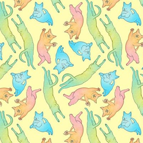 RGB Cats (Yellow)