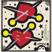 "4"" VooDoo Heart Cut & Sew Pillow (swatch)"