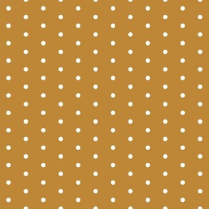 dot // caramel honey spot polka dot sweet dots mini dots