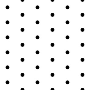 dot // spot black dots black spot polka dot larger scale sweet polka dot
