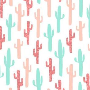 cactus southwest baby girl pastel nursery