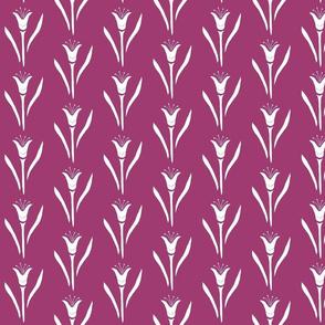 Tulip pattern-pink