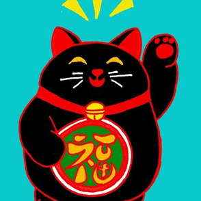 Fat n Happy Maneki Neko