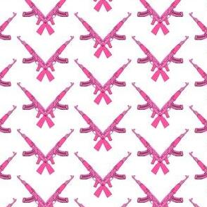 Pink army Kalashnikov
