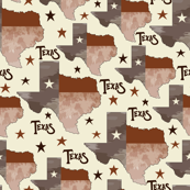 Texas Map Cream