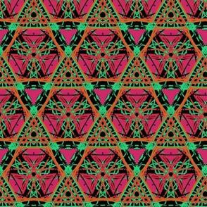 Hexagon Pyramids