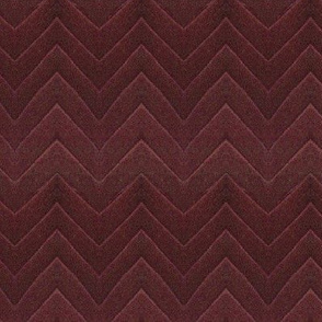 Chevron, in shades of maroon and ruby