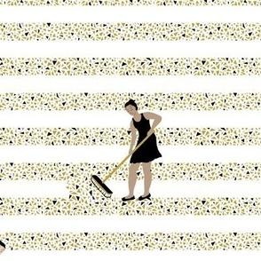 Confetti Swept Stripe