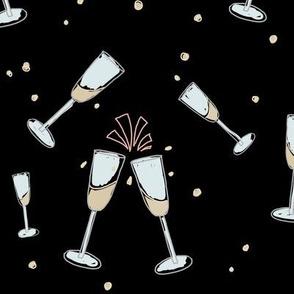 Champagne Celebration black