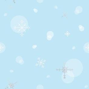 Snow - Light Blue