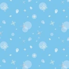 Snow- Blue