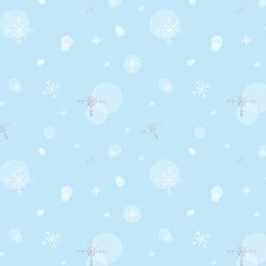 Snow - Light Blue