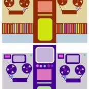 Quad Tape Player