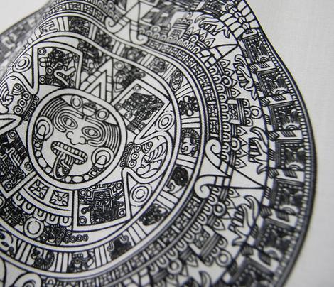 Aztec Calendar Swatch