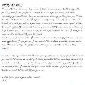 Famous Love letter 2