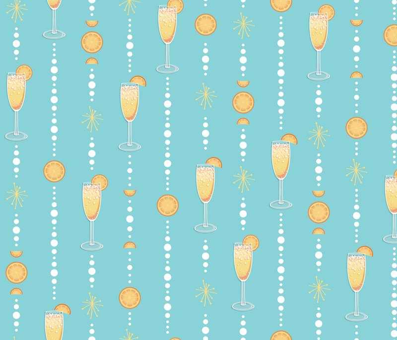 Spoonflower Fabric Of The Week Voting New Year Traditions