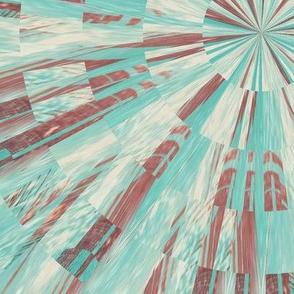 Turquois Geometric 01