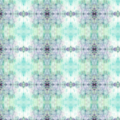 Abstract Damask Aqua & Lilac