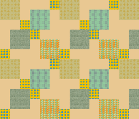 Disappearing_9-patch Gold