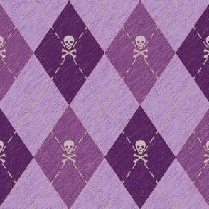 Arrgyle-Pirate Purple