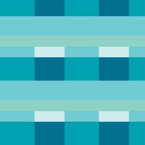 Modern Stripes - sky