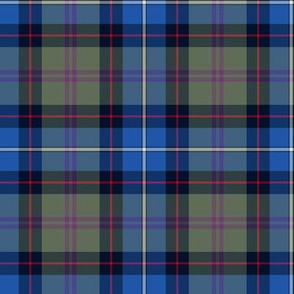 Birch tartan - blue/grey