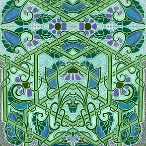 Art Nouveau Vine Entwine
