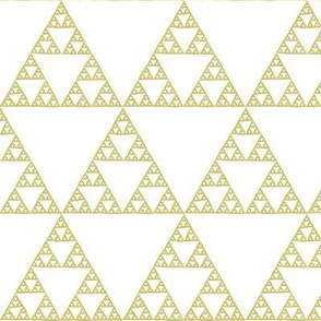 Sierpinski triangle - bronze