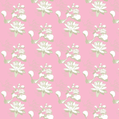 Water Lily Pastel Pink Stone
