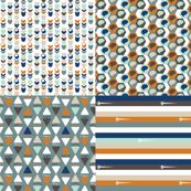 Neuroscience FQ - Orange - Blue - Aqua - Brown