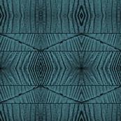 Beetle on Blue Woodgrain