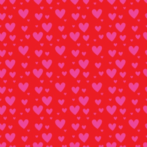 Red Pink Hearts