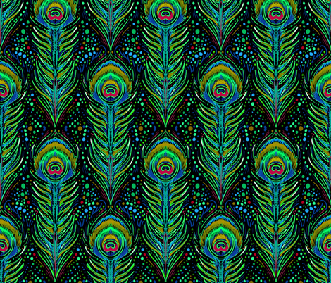 neon peacock wallpapers - photo #21