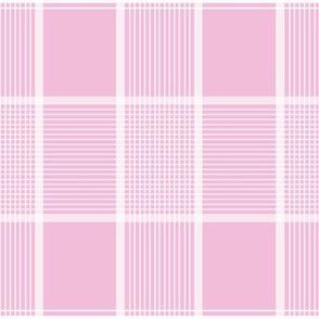 Mille Picnic Tartan in sorbet pink