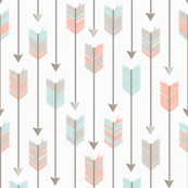 Tribal Arrows Pattern Fabric