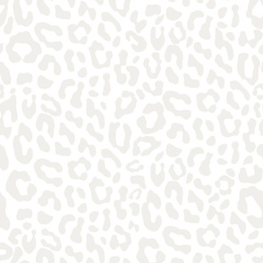White Leopard inversed